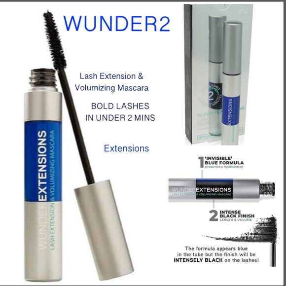 53a91fcaea5 Wunderbrow Makeup   Wunder2 Lash Extension Volumizing Mascara   Poshmark